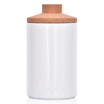Pojemnik kuchenny słój DUKA VIT 1250 ml biały porcelana