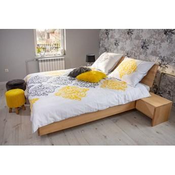 WYSYŁKA 24H ! - Ballega łóżko bukowe lewitujące 180x200 cm, kol. dąb antyczny DA