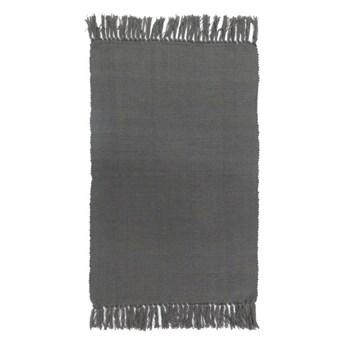 Dywanik 50 x 80 cm antracytowy