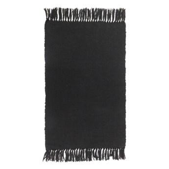 Dywanik 50 x 80 cm czarny