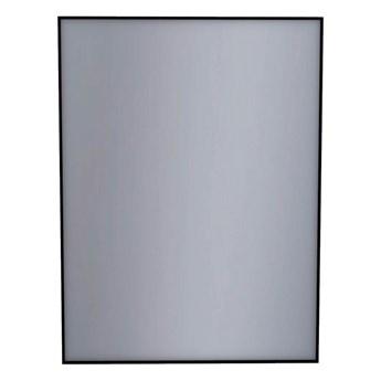 Lustro prostokątne Dubiel Vitrum Stark 60 x 80 cm w ramie czarne