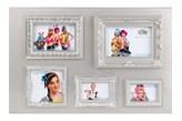 Collage, Ramka na zdjcia, srebrna - Darmowa dostawa do ponad 190 salonów empik!