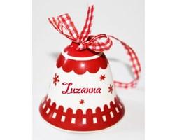 Dzwonek Świąteczny Zuzanna, czerwony - Darmowa dostawa do ponad 190 salonów empik!
