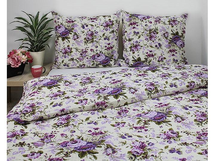 Pościel kora róże, bukiety fioletowe wzór 999