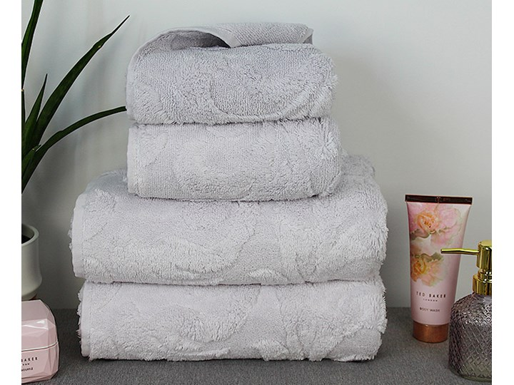 Ręcznik Allure srebrny