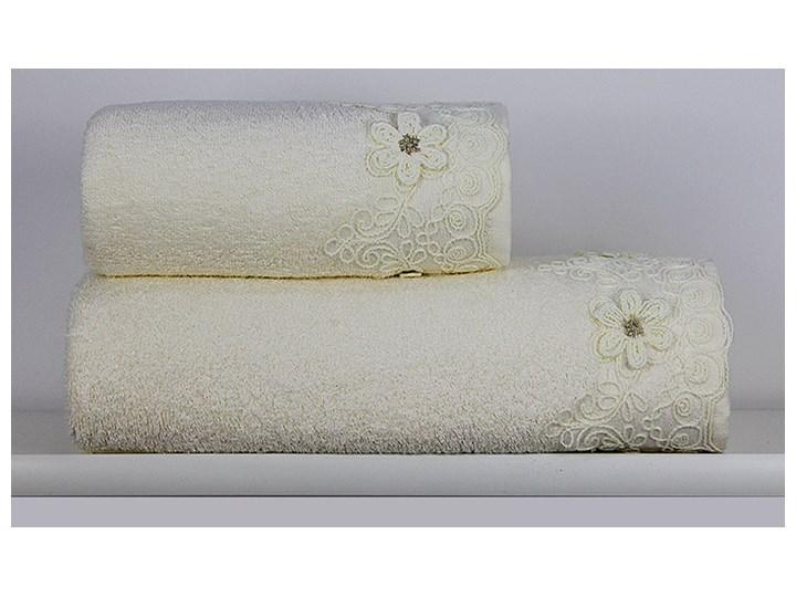 Ręcznik Diana kremowy Bawełna Bambus Kategoria Ręczniki Ręcznik kąpielowy Kolor Biały