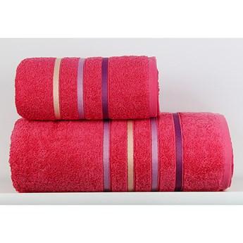Ręcznik Dominic różowy