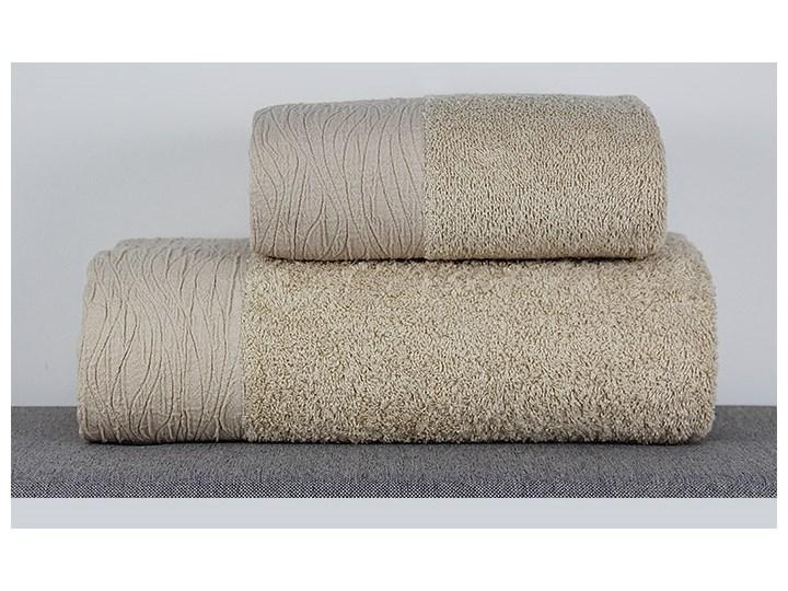 Ręcznik Eveline beżowy Bawełna Kategoria Ręczniki