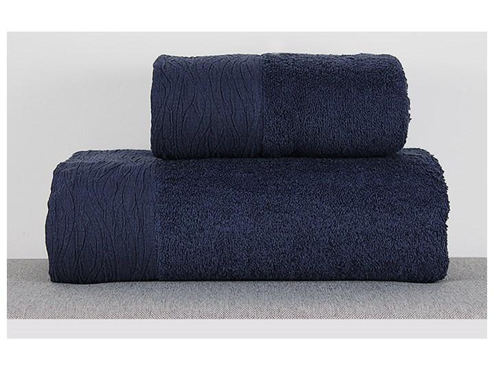 Ręcznik Eveline granatowy Bawełna Kategoria Ręczniki