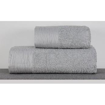 Ręcznik Eveline jasny szary