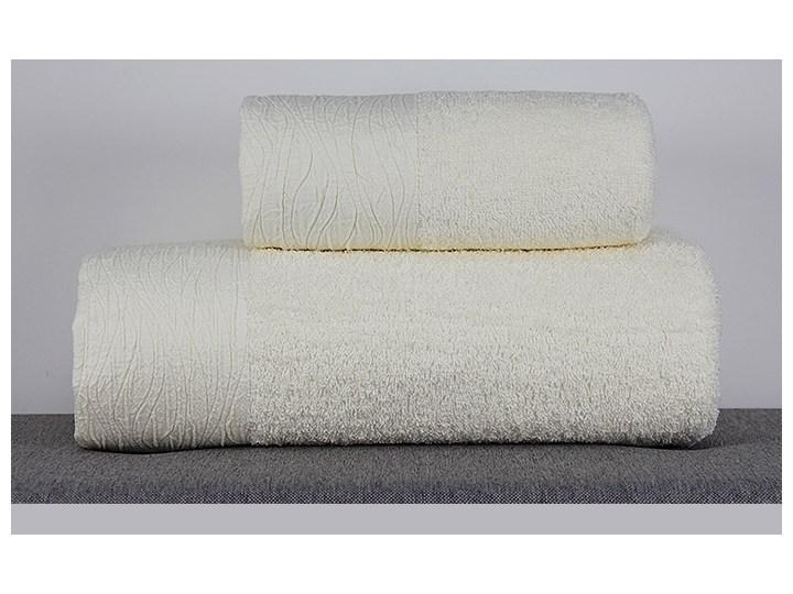 Ręcznik Eveline kremowy Bawełna Kategoria Ręczniki