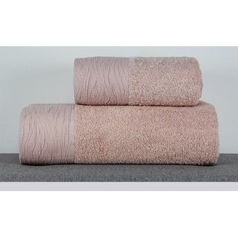 Ręcznik Eveline pudrowy róż