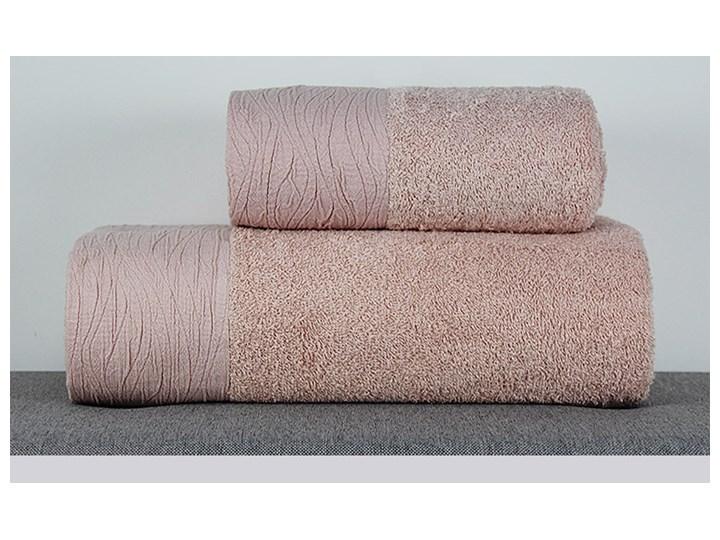 Ręcznik Eveline pudrowy róż Bawełna Kategoria Ręczniki Kolor Różowy