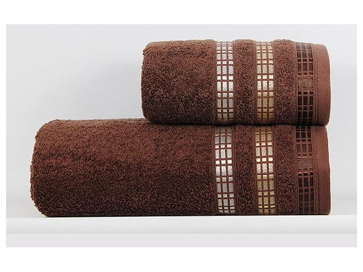 Ręcznik Leon brązowy