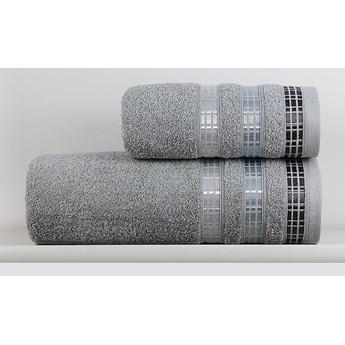 Ręcznik LUXURY jasny szary
