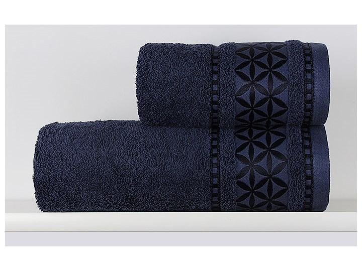 Ręcznik Paola granatowy Bawełna Kategoria Ręczniki