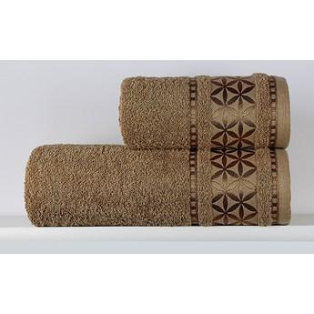 Ręcznik Paola karmelowy