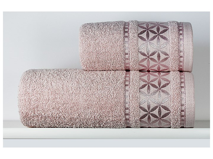Ręcznik Paola pudrowy róż Bawełna Kategoria Ręczniki Kolor Różowy