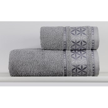 Ręcznik Paola srebrny