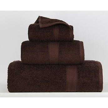 Ręcznik Sally brąz