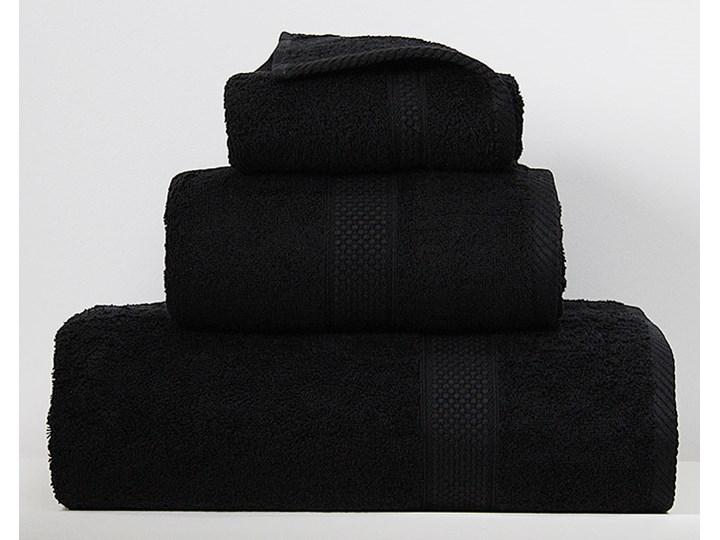 Ręcznik Sally czarny Bawełna Kategoria Ręczniki