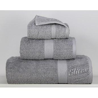 Ręcznik Sally jasny szary