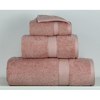 Ręcznik Sally pudrowy róż