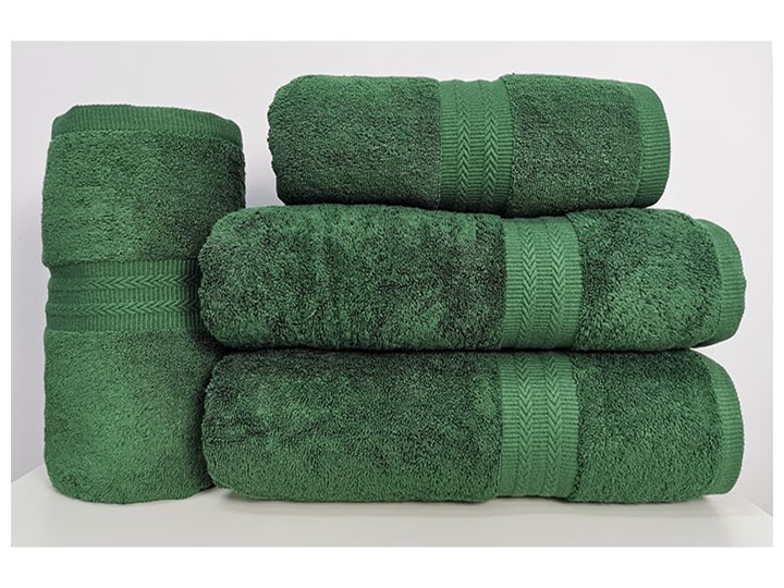 Ręcznik Figo zielony myśliwski 50x100 cm Bawełna Kategoria Ręczniki