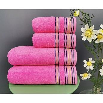 Ręcznik Melania różowy