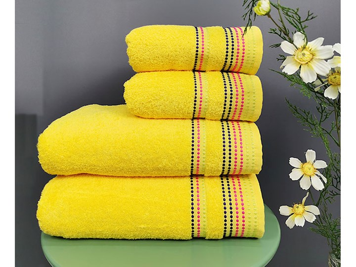 Ręcznik Melania żółty Bawełna Kategoria Ręczniki