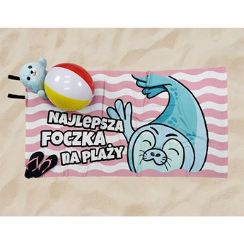 Ręcznik Plażowy foka