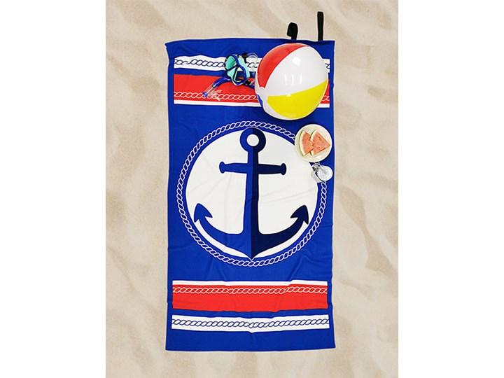 Ręcznik Plażowy kotwica Ręcznik z kapturkiem 90x170 cm Ręcznik kąpielowy Kategoria Ręczniki