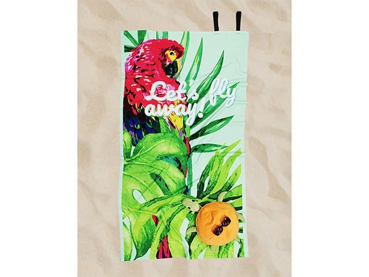 Ręcznik Plażowy papuga Ręcznik kąpielowy Ręcznik z kapturkiem Kategoria Ręczniki 90x170 cm Kolor Zielony