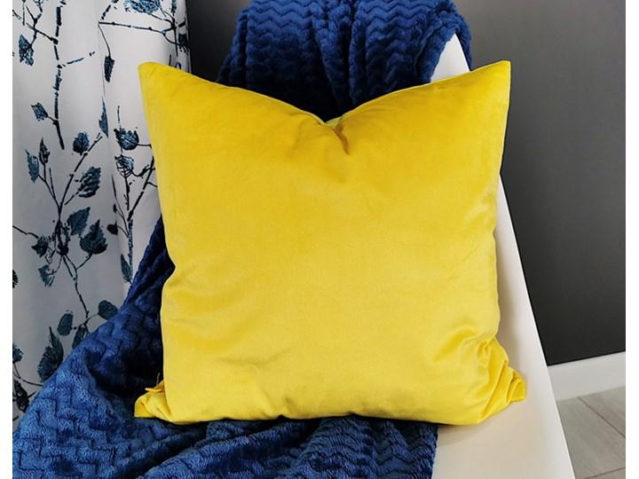 Poszewka aksamitna T-SX94010 żółta 09