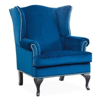 Fotel Benjamin 1 Velvet - 2 kolory Granatowy
