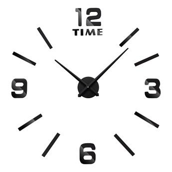Zegar ścienny Diy BAST 3D czarny