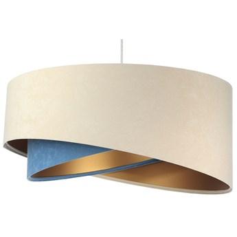 Beżowo-złota lampa wisząca nad stół - EX998-Olida