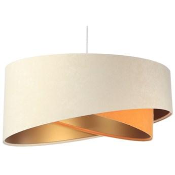 Beżowo-złota elegancka lampa wisząca - EX999-Serita