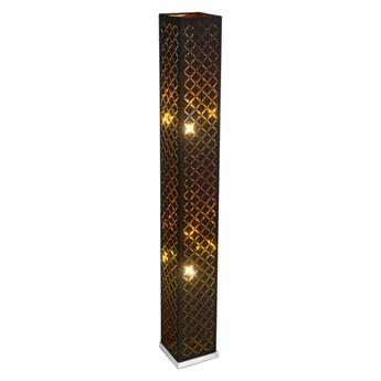 Lampa podłogowa Clarke 2 x 40 W E27 czarna / złota
