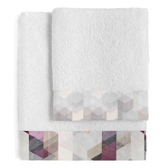 Zestaw 2 bawełnianych ręczników Blanc Pond