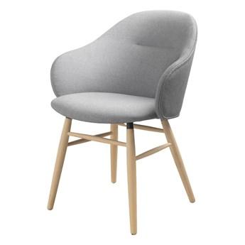 Szare krzesło do jadalni Unique Furniture Teno Oak