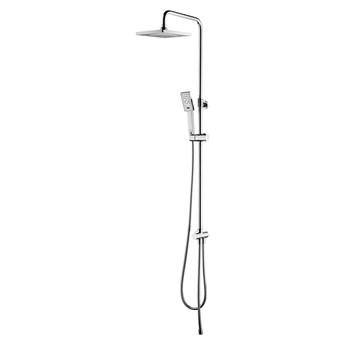 JimJim zestaw prysznicowy ścienny z deszczownicą 20 cm chrom SYSJIMJIMCR