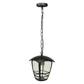 Lampa ogrodowa wisząca IMMA Black C E27 czarny łańcuch 0,5m IP44 EDO777383 EDO Garden Line
