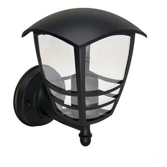 Lampa ogrodowa kinkiet elewacyjny IMMA BLACK UP E27 czarny IP44 EDO777378 EDO Garden Line