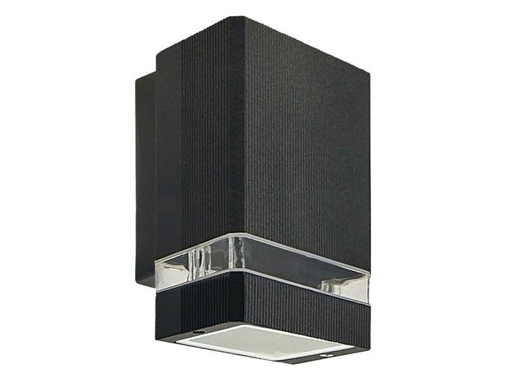 Lampa ogrodowa kinkiet elewacyjny PANAM SOL BLACK GU10 czarny IP44 EDO777367 EDO Garden Line