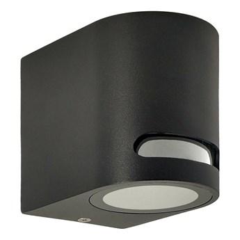 Lampa ogrodowa kinkiet elewacyjny VIRA 1 GU10 czarny IP54 EDO777374 EDO Garden Line