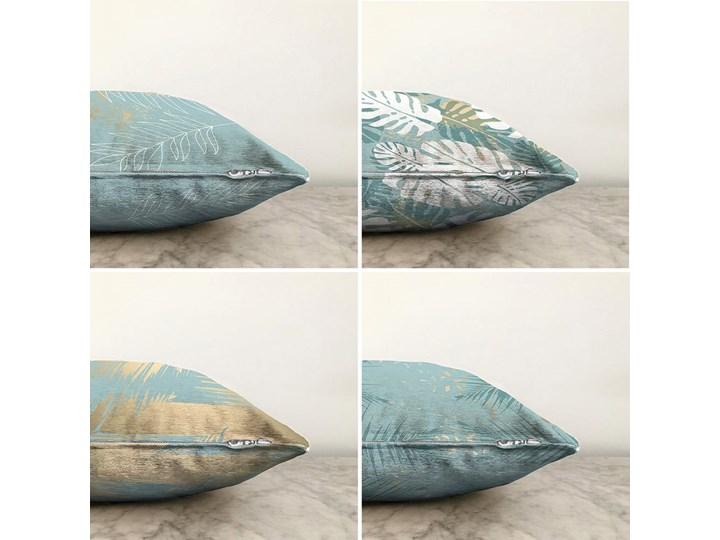 Zestaw 4 poszewek na poduszki Minimalist Cushion Covers Lagoon, 55x55 cm Bawełna Poszewka dekoracyjna Poliester Kategoria Poduszki i poszewki dekoracyjne