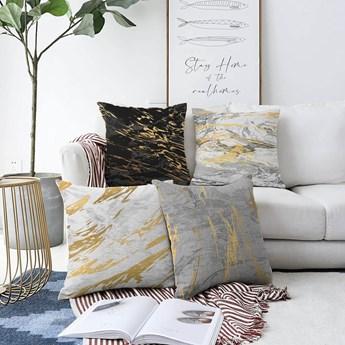Zestaw 4 poszewek na poduszki Minimalist Cushion Covers Artsy, 55x55 cm