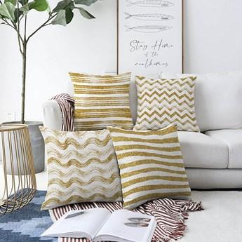 Zestaw 4 poszewek na poduszki Minimalist Cushion Covers Geometric, 55x55 cm