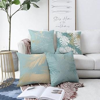 Zestaw 4 poszewek na poduszki Minimalist Cushion Covers Lagoon, 55x55 cm